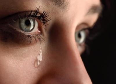 Sin lágrimas, tus ojos están en peligro.