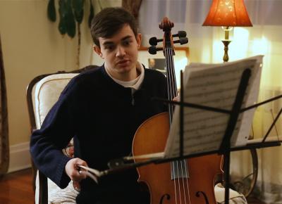 Benjamin Rosloff, jóven cineasta con autismo